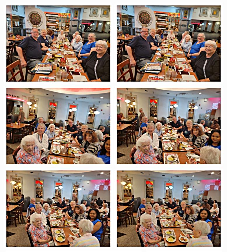Dorothy Celebrates Her 101st Birthday At Ben's