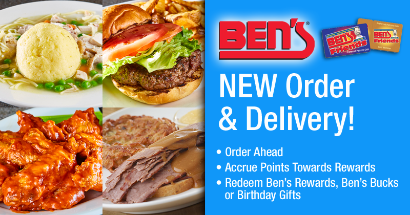 Ben's NEW Order & Delivery