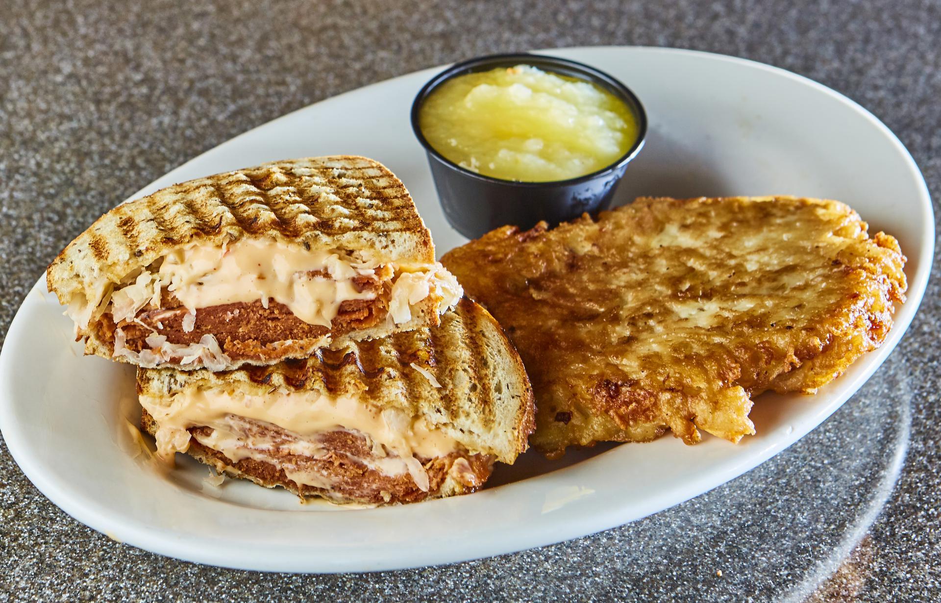 Ben's NEW Plant-Based Reuben Sandwich