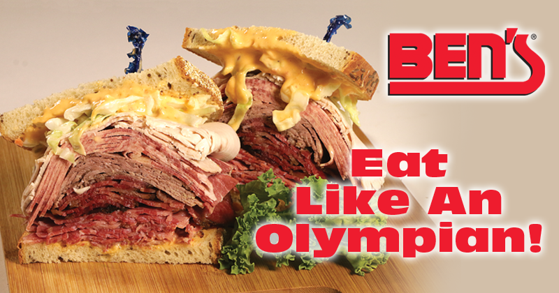 Eat Like An Olympian At Ben's!