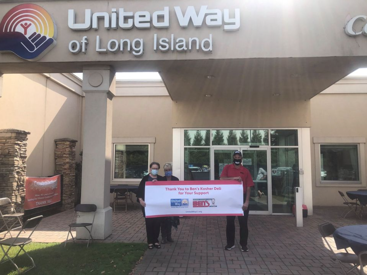 Ben's & United Way Of Long Island... Together We Make A Difference!