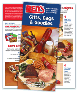 Ben's Gifts, Gags & Goodies Brochure