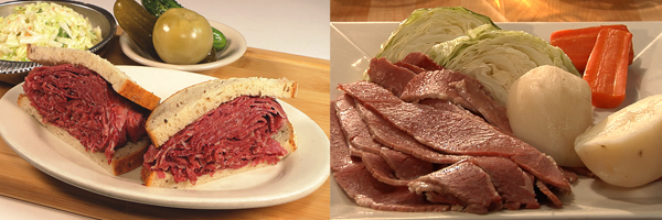 Ben's soups, salads, sandwiches and dinners are freshly prepared.