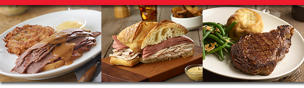 Customers love Ben's homemade soups, hot pastrami, fresh-cut coleslaw, baked knishes and crunchy all you can eat pickles.