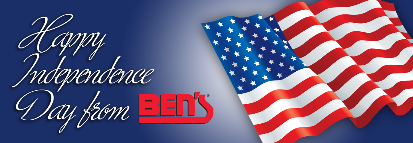 Happy Independence Day from Ben's!