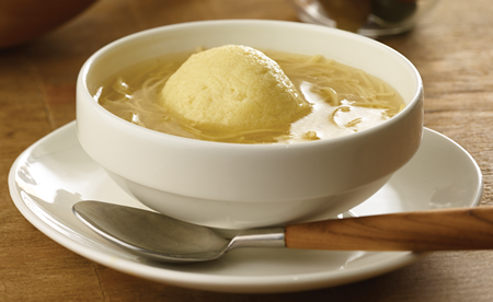Ben's Chicken Noodle Soup with Matzo Ball